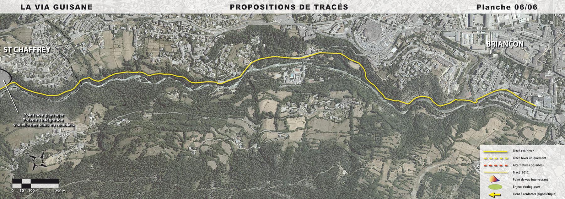 De Saint-Chaffrey à Briançon