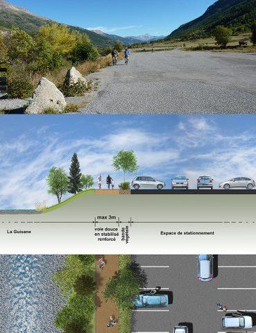 Exemple d'aménagement en milieu urbain
